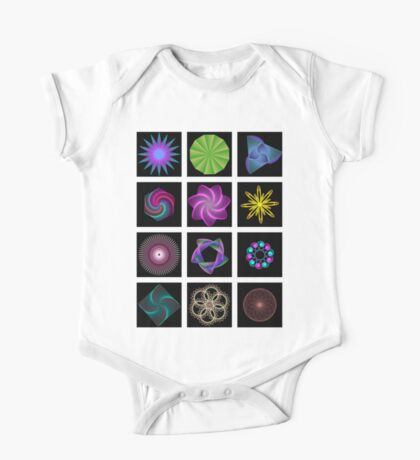 Beautiful colorful geometric shapes Kids Clothes