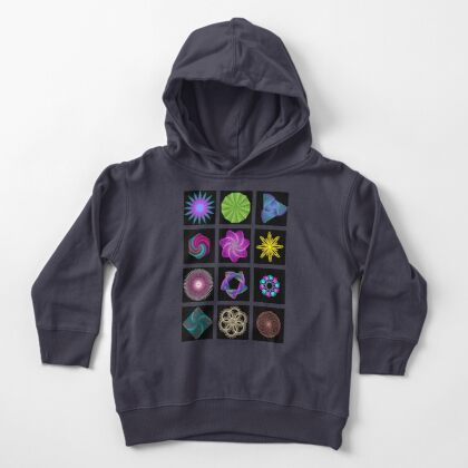 Beautiful colorful geometric shapes Toddler Pullover Hoodie