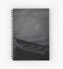 The Haunted Rowboat Spiral Notebook