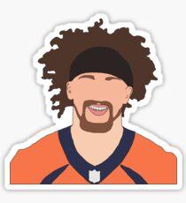PHILLIP LINDSAY #30 Denver Broncos Sticker
