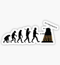 "Doctor Who Evolution - Dalek ""EXTERMINATE"" Sticker"