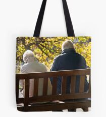 Become old Tote Bag