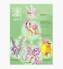 EYP Fluttershy Photographic Print