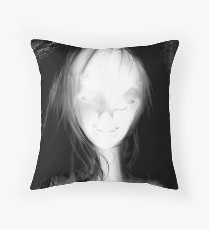 Negative Ophelia Throw Pillow