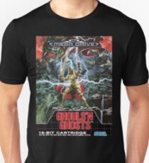 Ghouls n' Ghosts Mega Drive Cover T-Shirt
