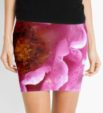 Pink Rose Mini Skirt