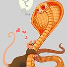 Rat Loves Snake by Fable
