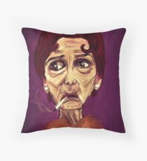 OOH I SAY - from the 'stenders range Throw Pillow
