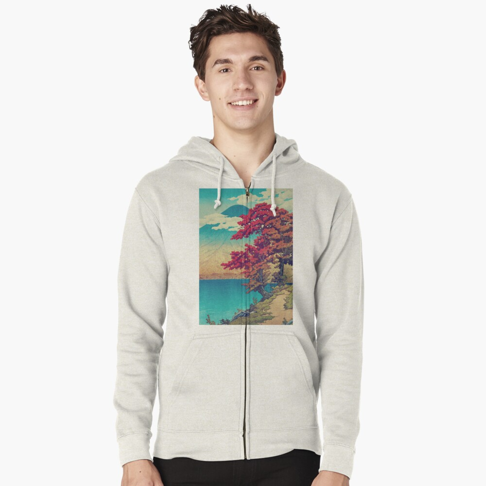 The New Year in Hisseii Zipped Hoodie