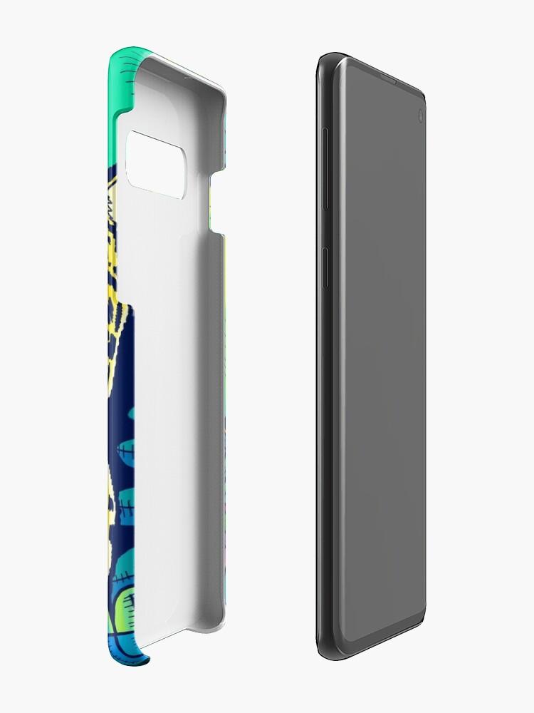 Alternate view of Jungle leopard Case & Skin for Samsung Galaxy