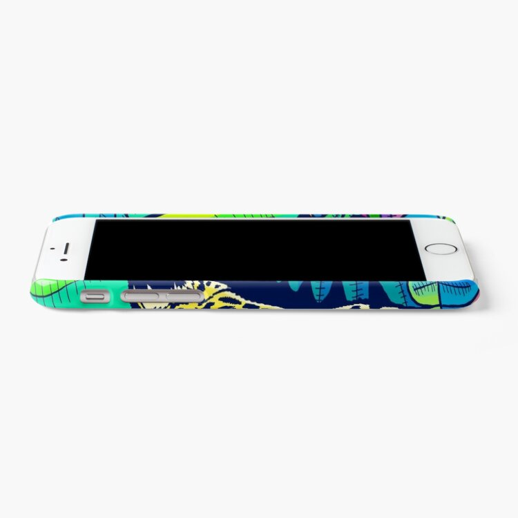 Alternate view of Jungle leopard iPhone Case & Cover