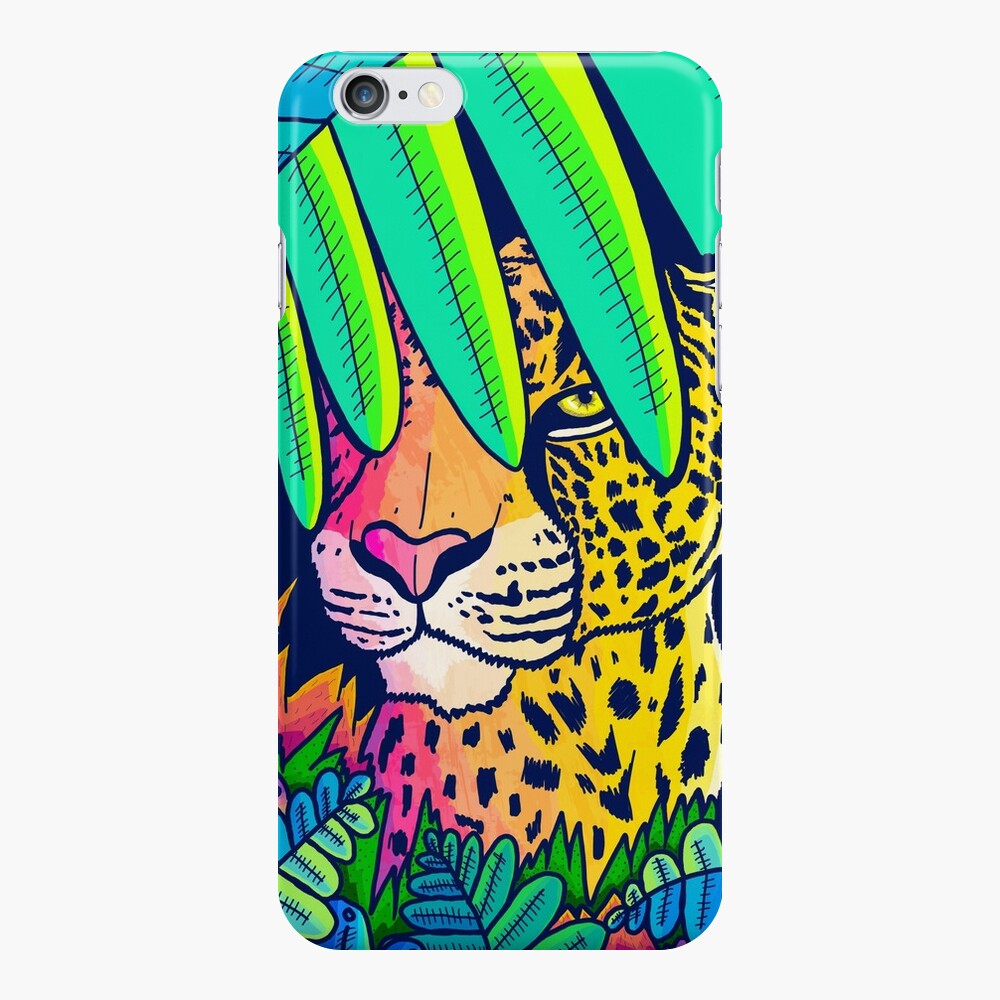 Jungle leopard iPhone Case & Cover