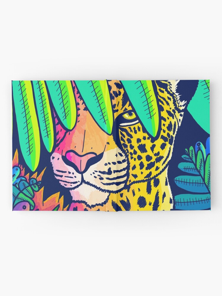 Alternate view of Jungle leopard Hardcover Journal