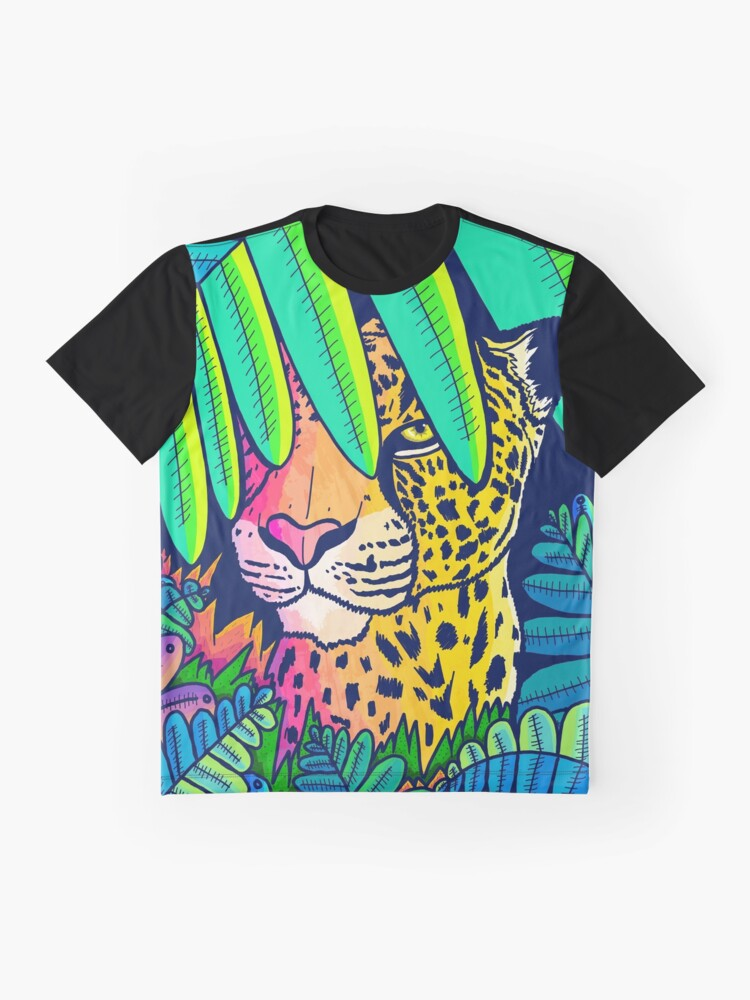 Alternate view of Jungle leopard Graphic T-Shirt