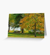 Fall at Baltz Lake Greeting Card