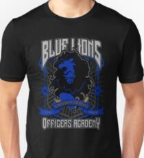 Blue Lions Crest Slim Fit T-Shirt