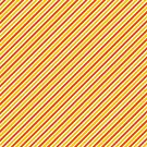 Candy Corn Stripes - Thin by Sarinilli