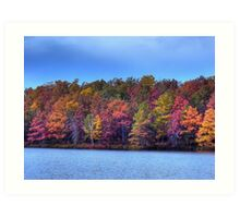 Fall in the Noth East Art Print