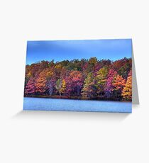 Fall in the Noth East Greeting Card