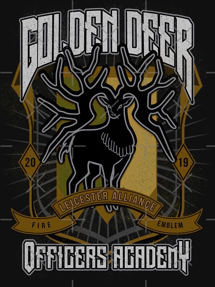 Golden Deer Crest by ursulalopez