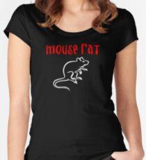 Camiseta entallada de cuello ancho Mouse Rat