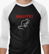 Mouse Rat Men's Baseball ¾ T-Shirt