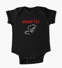 Body de manga corta para bebé Rata del ratón