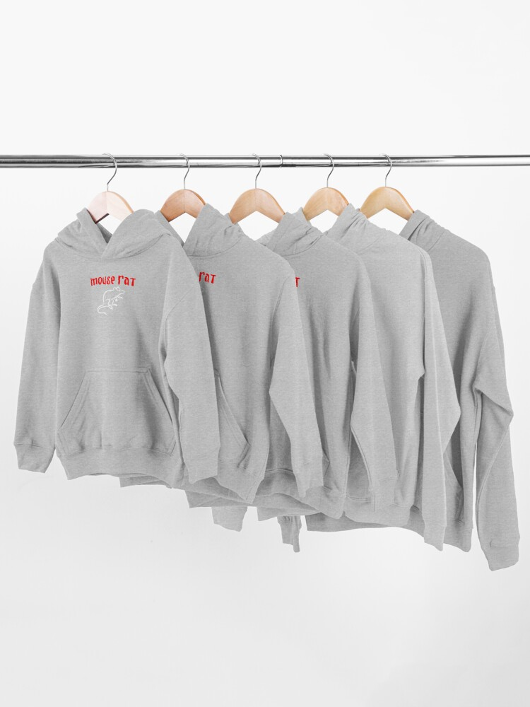 Alternate view of Mouse Rat Kids Pullover Hoodie
