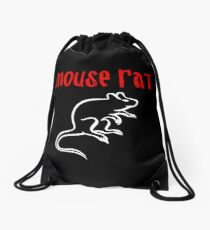 Mouse Rat Drawstring Bag