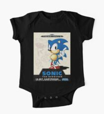 Sonic the Hedgehog Mega Drive Cover Kids Clothes