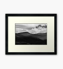 Last Brush Of Sunlight Framed Print