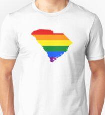 LGBT Flag of South Carolina  T-Shirt