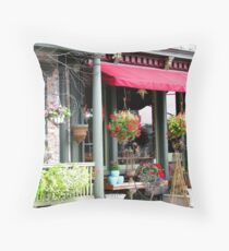 """""""Please  Come In!"""" Throw Pillow"""