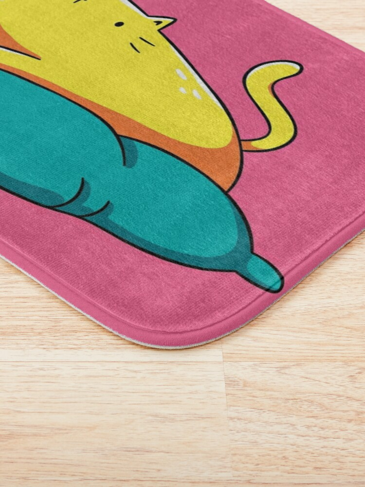 Alternate view of Not Today Cat Bath Mat