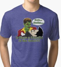 Angel - Is There a Gepetto in the House?! (Buffy) Tri-blend T-Shirt