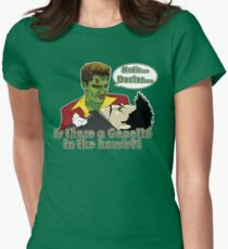 Angel - Is There a Gepetto in the House?! (Buffy) Women's Fitted T-Shirt