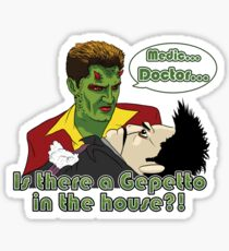 Angel - Is There a Gepetto in the House?! (Buffy) Sticker