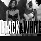 Black and White Angels by Andy Renard