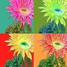 flower pop by tinncity
