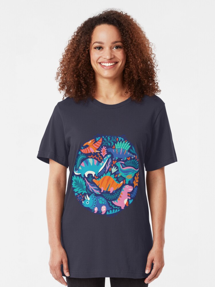 Alternate view of Dino team 1 Slim Fit T-Shirt