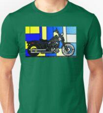 harley glass 2 Unisex T-Shirt