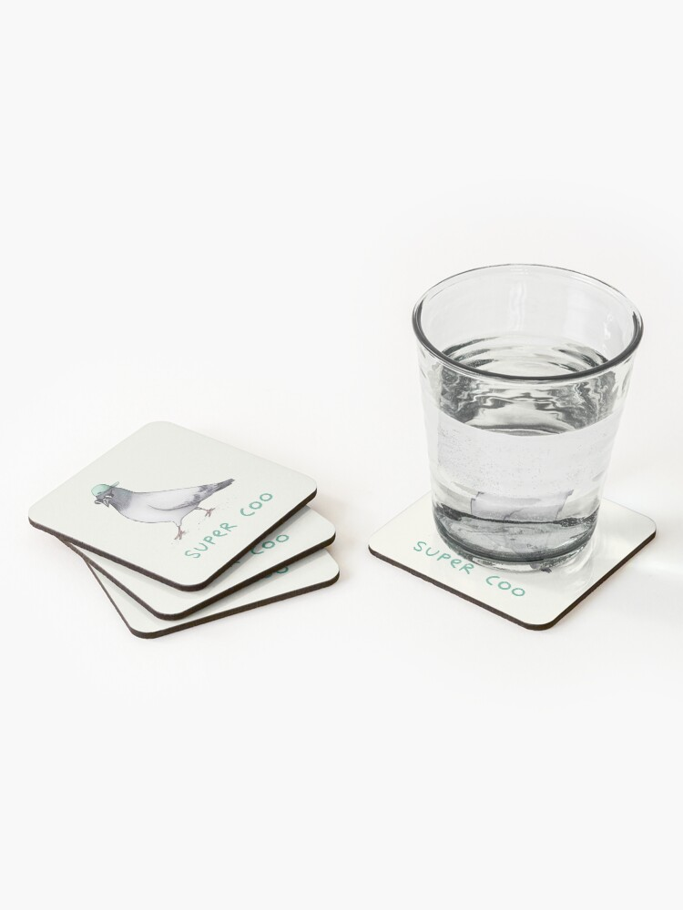 Alternate view of Super Coo Coasters (Set of 4)