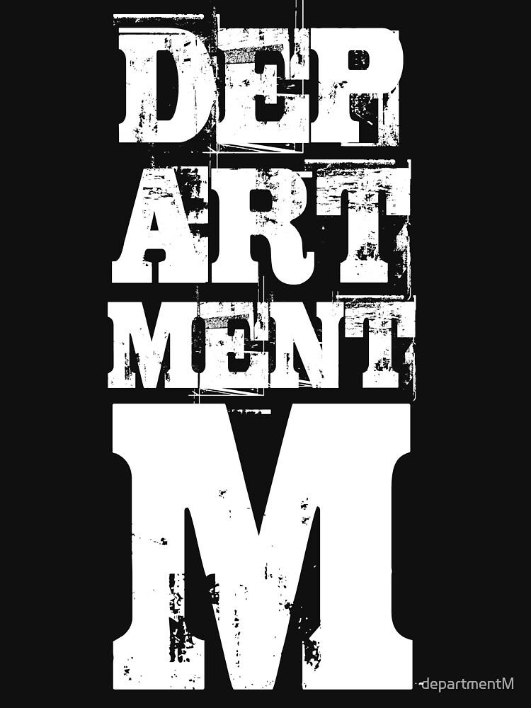 Official Department M Shirt by departmentM