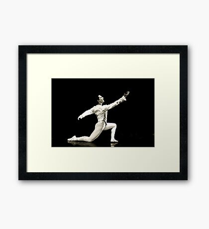 Commanding the Stage Framed Print