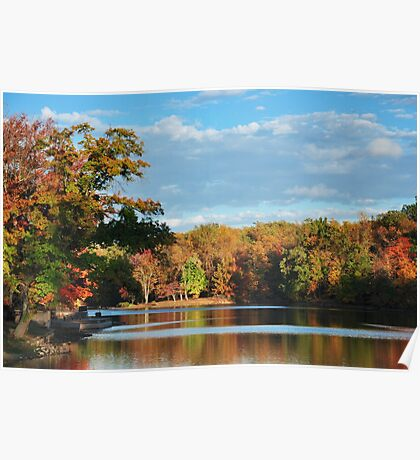 Fall Awesome Colors Poster