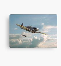 Spitfire - 'High in the Sunlit Silence' Canvas Print