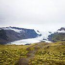 Vatnajökull Glacier by Natalie Broome