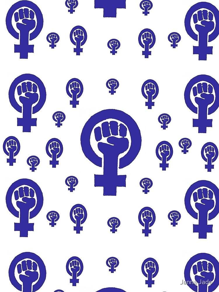 Feminism - Blue by BetteB