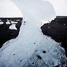 Jökulsárlón Glacial lce II by Natalie Broome