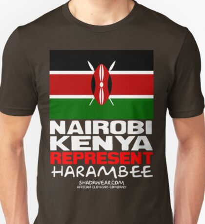 Kenya Represent T-Shirt